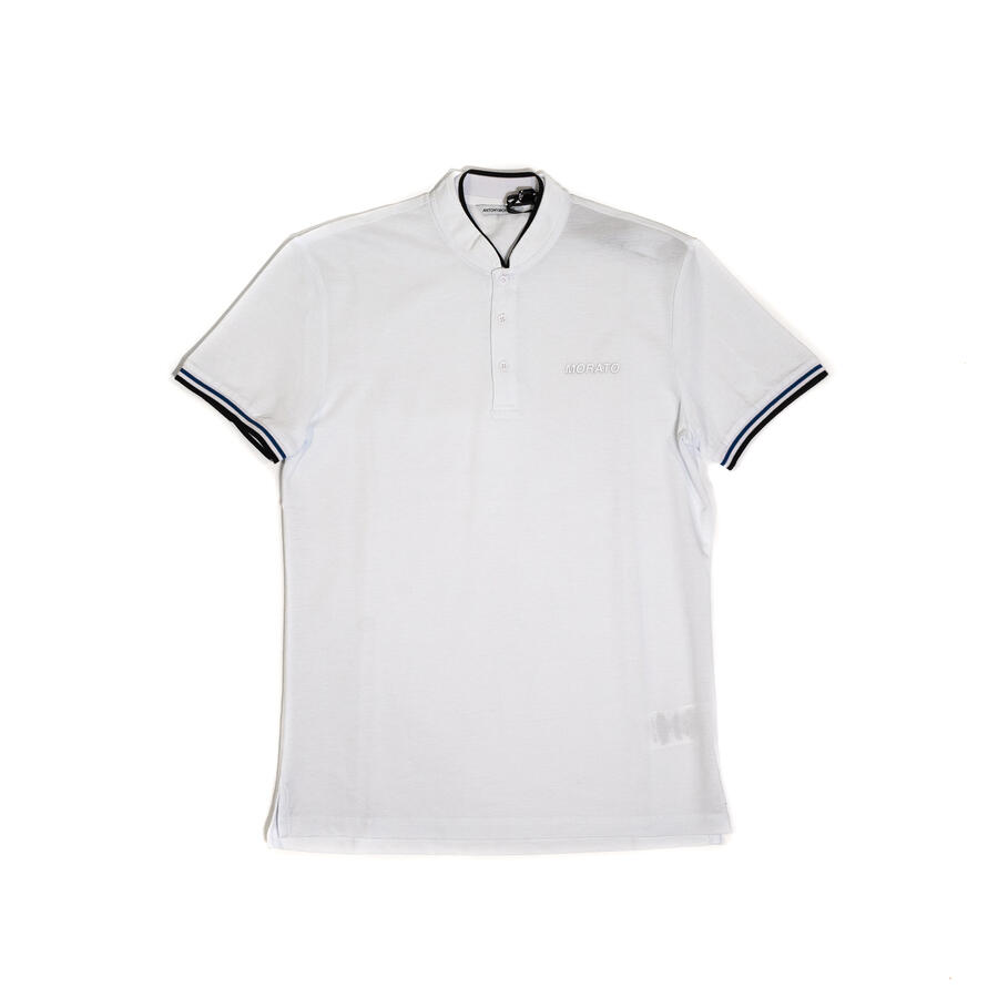 POLO ANTONY MORATO SLIM FIT IN PIQUET DI COTONE CON COLLETTO COREANO - Colori disponibili: 2