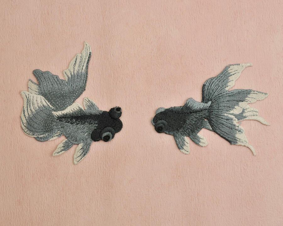 Pesci coppia da cucire