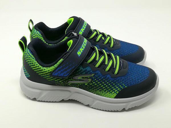 Go Run 650 Blu/Lime - SKECHERS