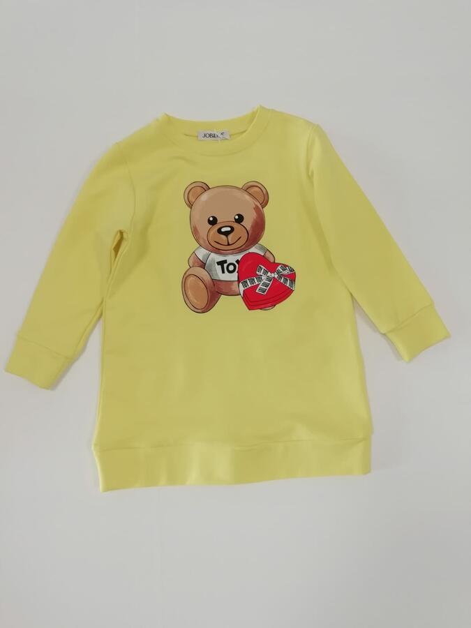 Vestito bambina orso