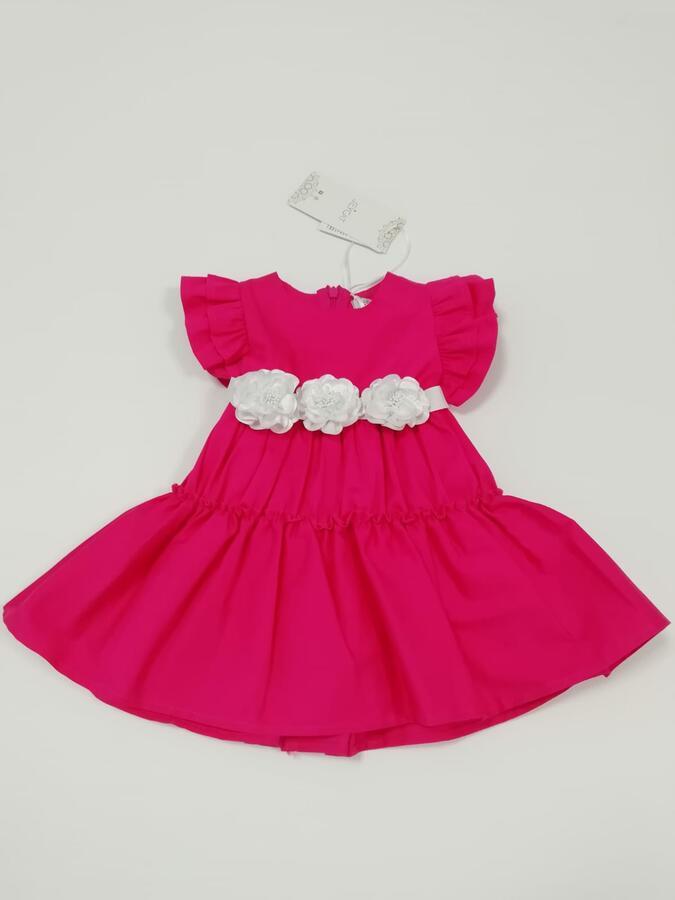 Jeycat vestito rose bianche