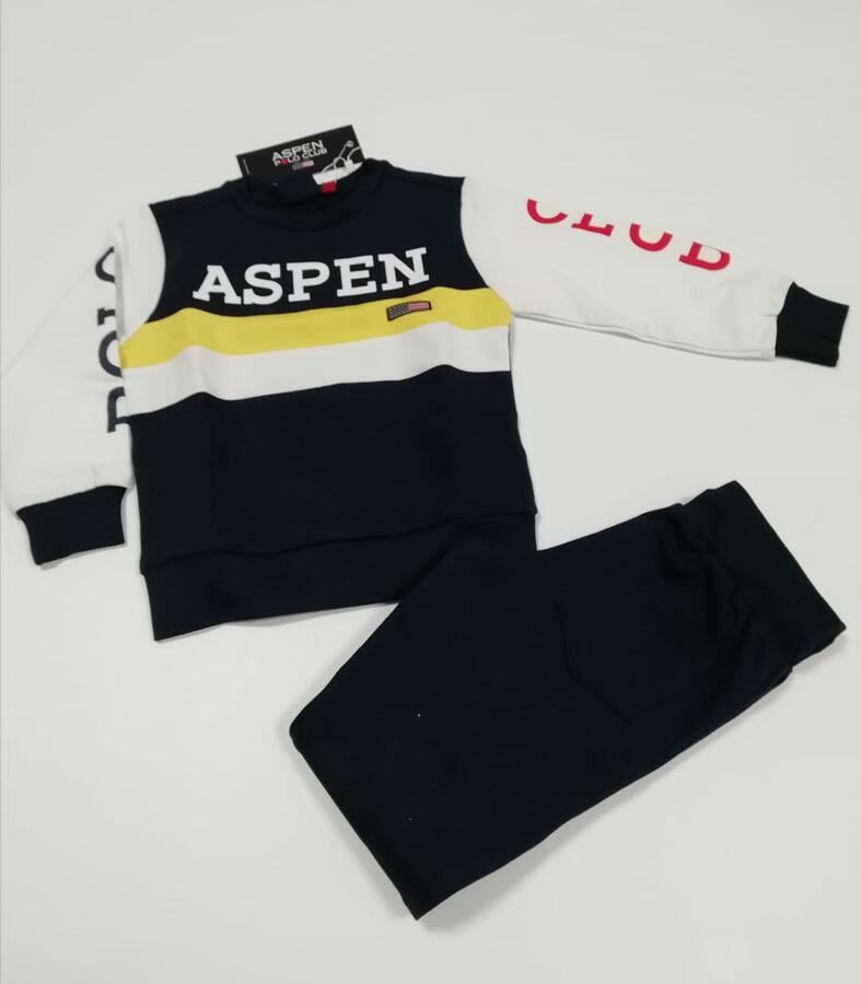 Aspen polo club tuta blu