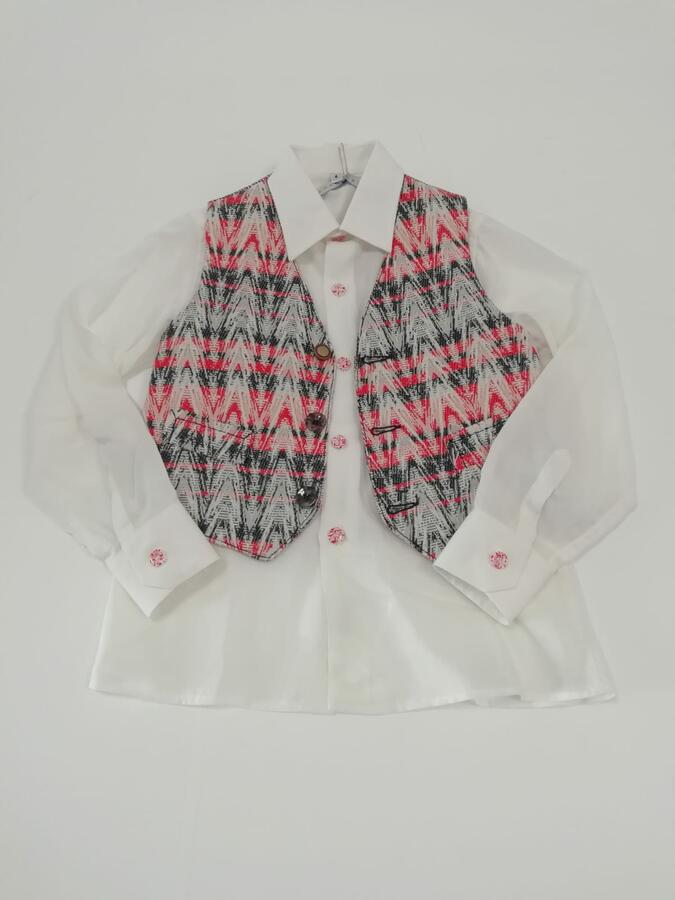 ANACAPRI camicia con gilet