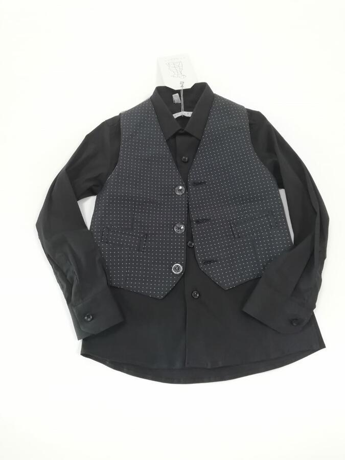 ANACAPRI camicia con gilet nero