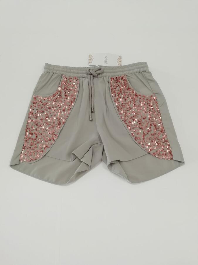 JEYCAT Shorts con paillettes