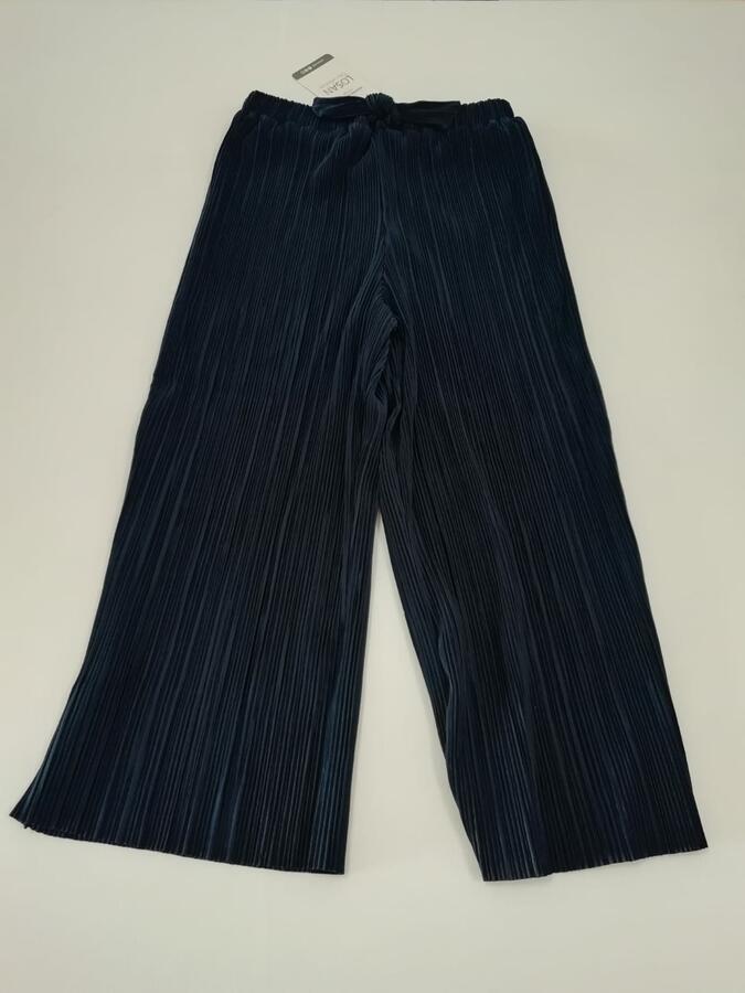 LOSAN Pantalone a palazzo blu