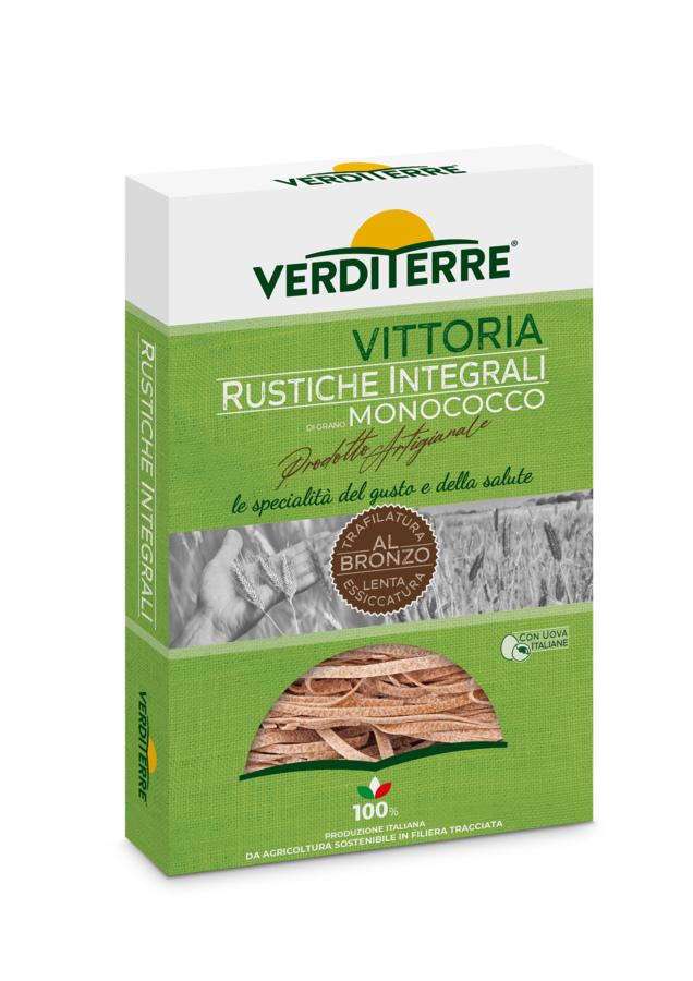 Rustiche all'uovo integrali di grano monococco 250 gr - old