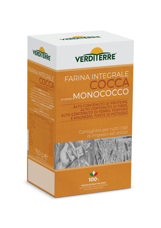 Farina Cocca - Integrale di grano monococco - 750 gr