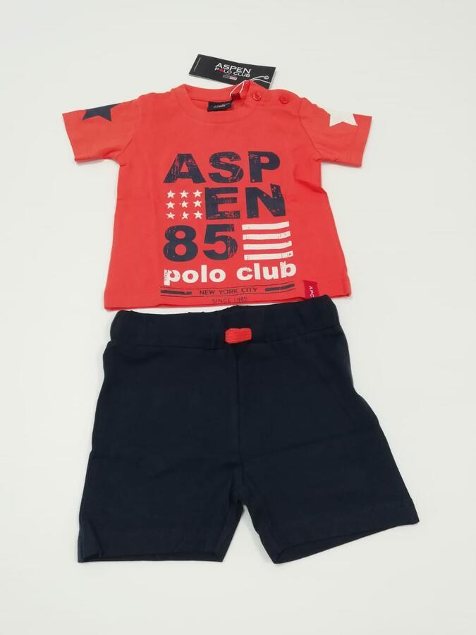 ASPEN POLO CLUB arancio