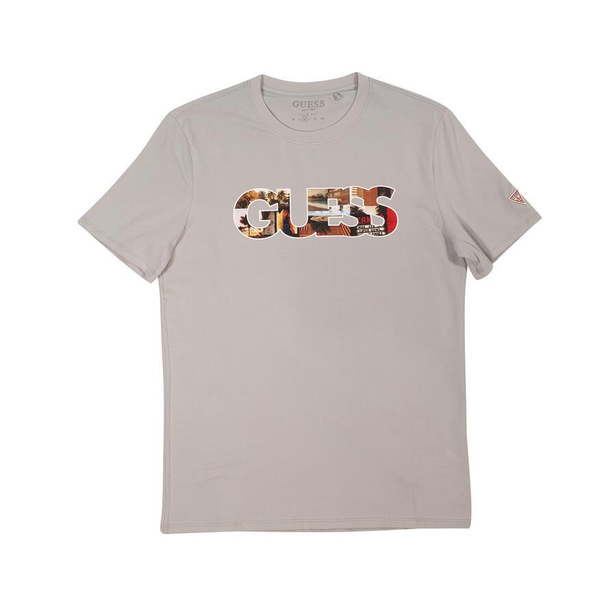 T-SHIRT GUESS SLIM FIT CON LOGO FRONTALE - Colori disponibili: 4