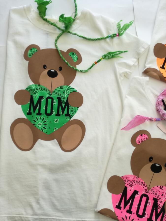 Vicolo T-shirt MOM orsetto