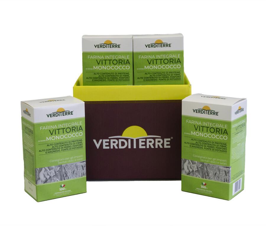 Farina Vittoria - Integrale di grano monococco - 750 gr
