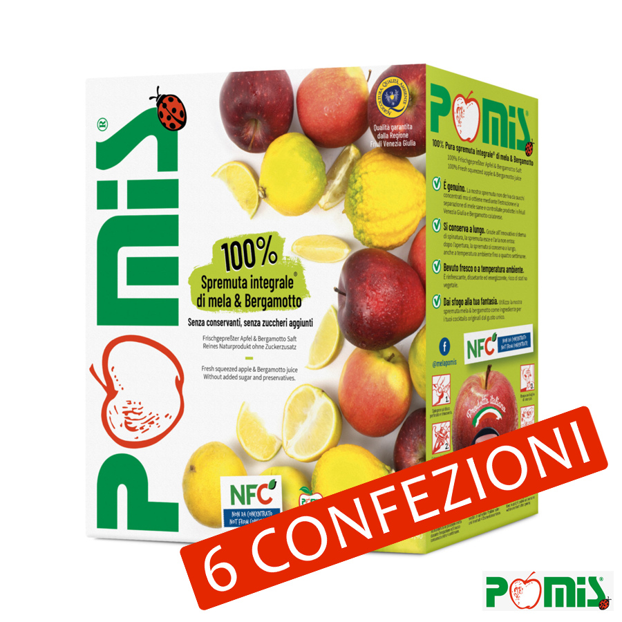 3lt Spremuta Integrale di Mele e Bergamotto - Bag in Box
