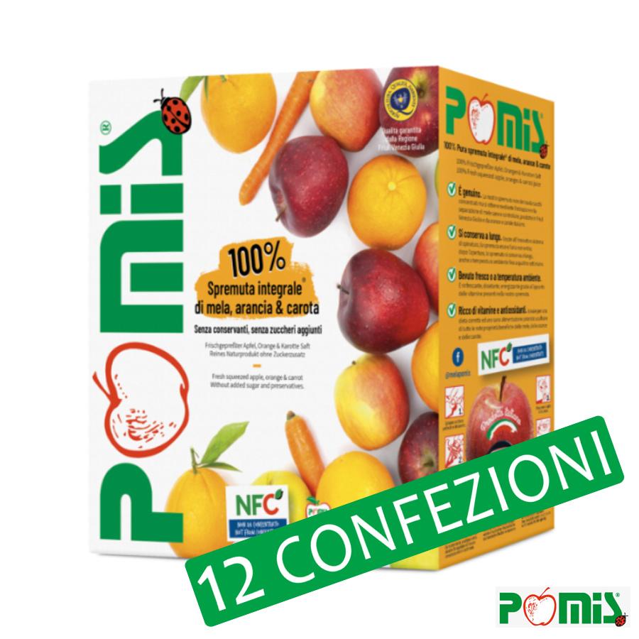 3lt Spremuta Integrale di Mele, Arancia e Carota - Bag in Box