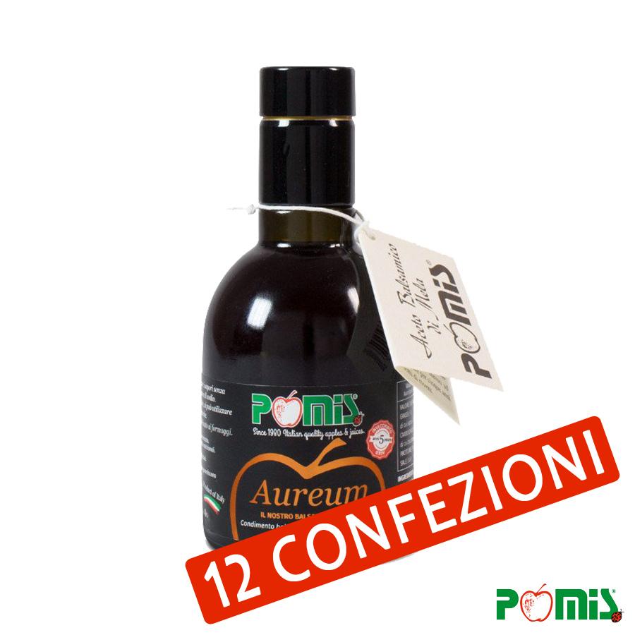 "Condimento balsamico a base di aceto di mela ""Aureum 5 Years"", 250 ml"
