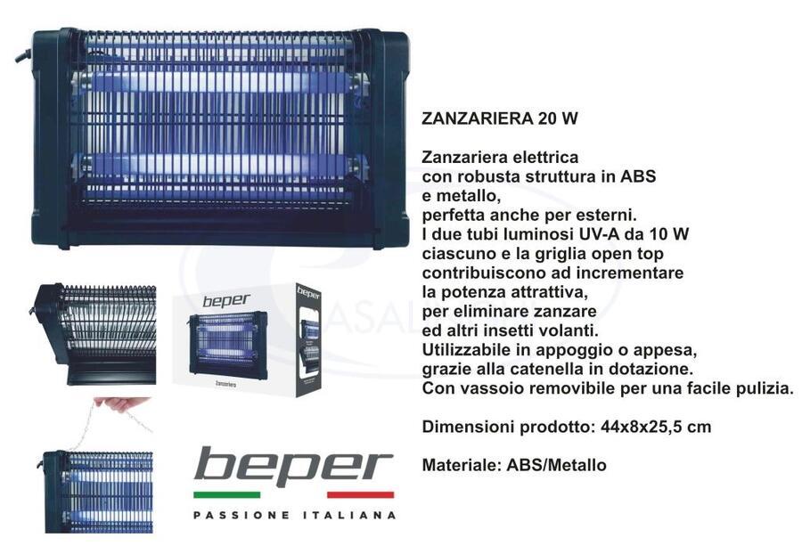 Zanzariera elettrica 20w-40w