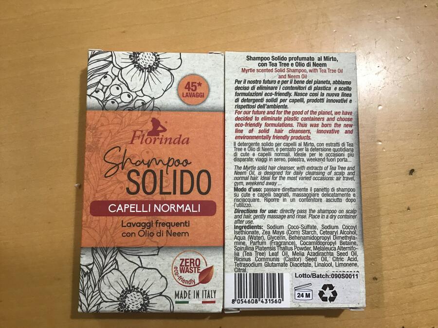 Shampoo Solidi