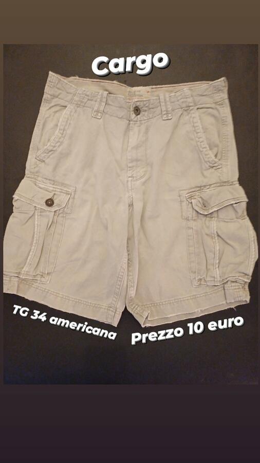 Pantaloncini Cargo