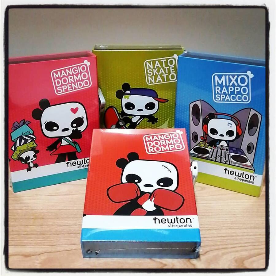 DIARIO SEGRETO NEWTON & THE PANDAS POOL OVER