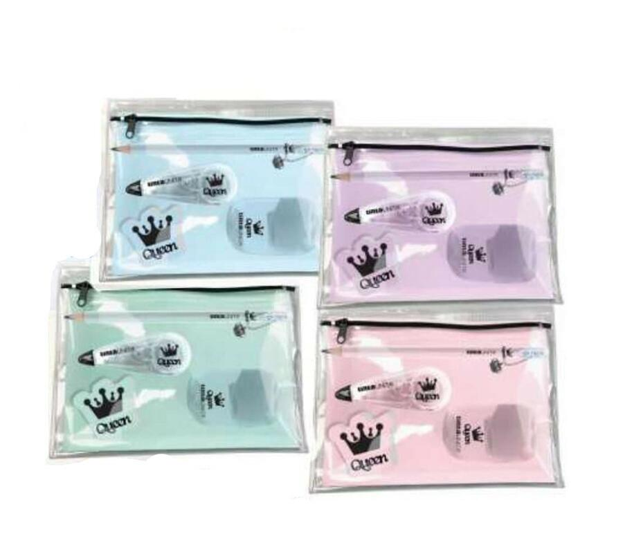 STATIONARY SET BUSTA CON CURSORE QUEEN & KING POOL OVER