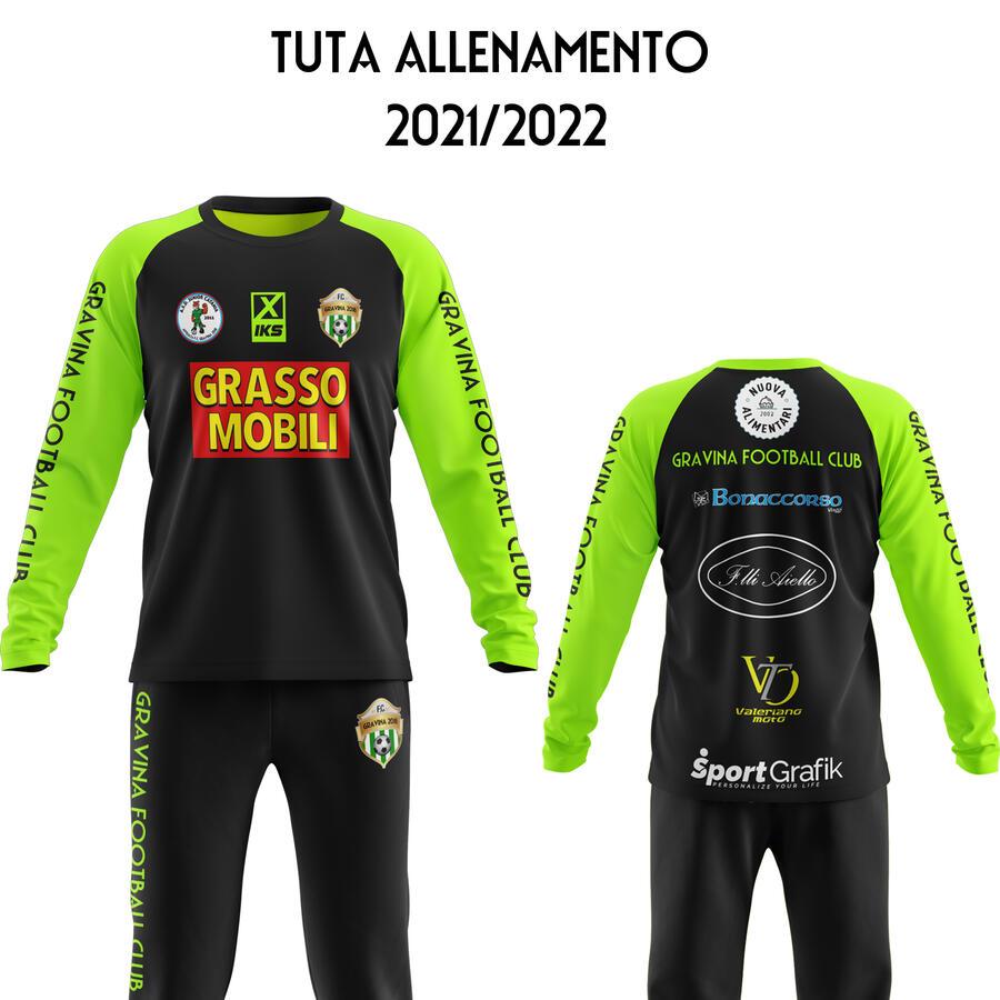 Tuta Allenamento Invernale Stagione 2021/2022 Gravina Football Club