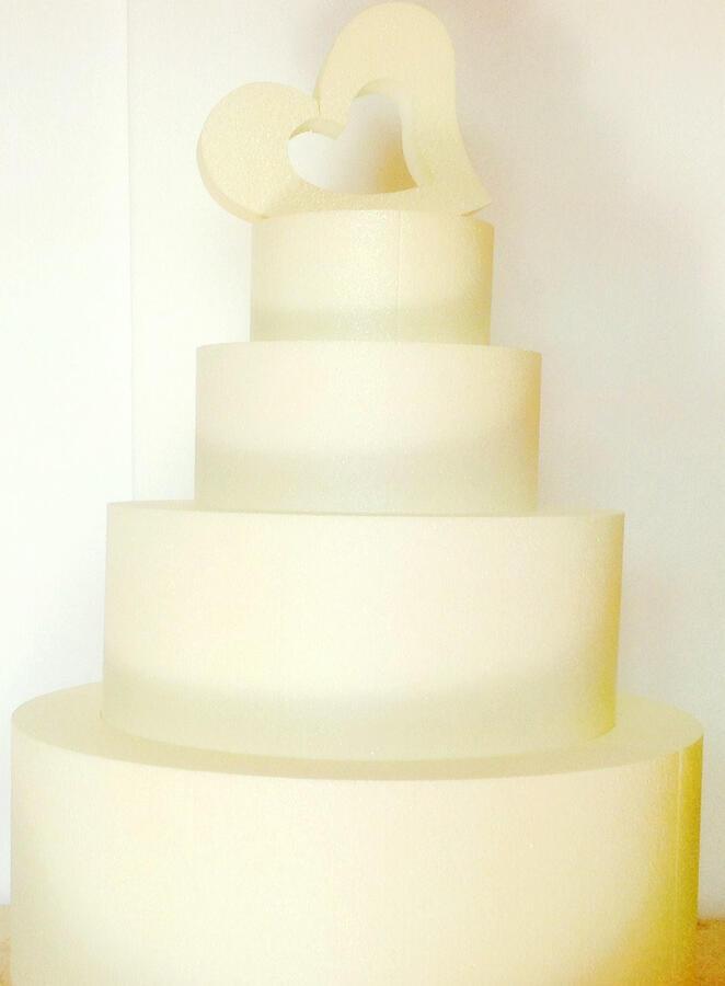 Portabuste o messggi Torta