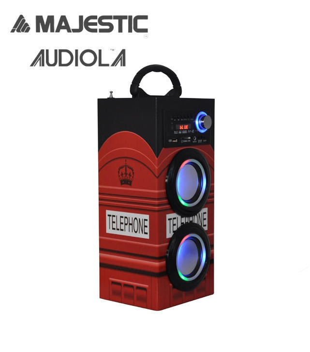 MAJESTIC Speaker BT/USB/SD/AUX TS-79  2 COLORAZIONI