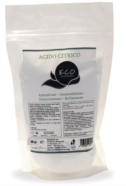 Acido Citrico Puro in polvere