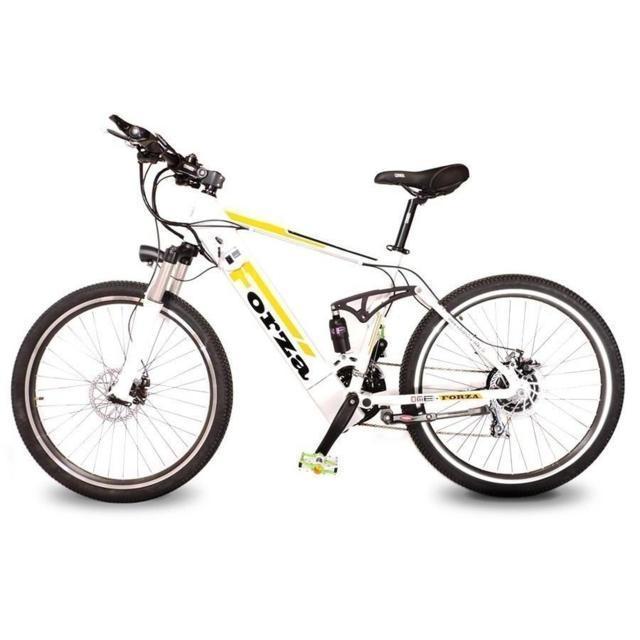 "Bicicletta elettrica 26"" Mountain-bike pedalata assistita Forza v1.0"