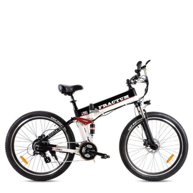 """Bicicletta Mountain Bike  28"""" pieghevole 250w 48v  Fractum v2.0"""