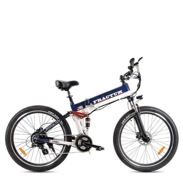"Bici elettrica 28"" pieghevole Bicicletta Mountain Bike  250w 48v  v2.0  FRACTUM"