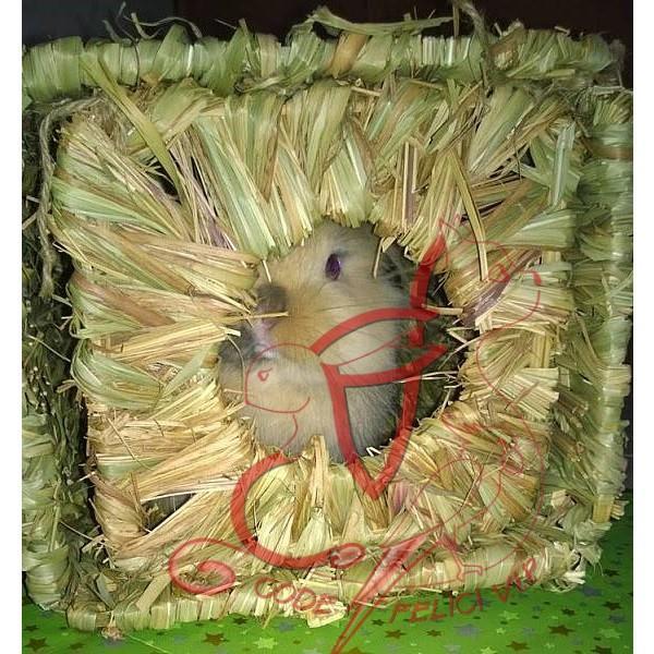 Happy Pet Casetta – Grass Hideaway - Large