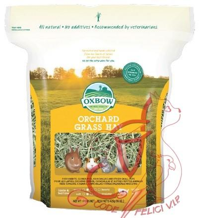 Oxbow Fieno Orchard Grass Hay - 1.130 Gr.