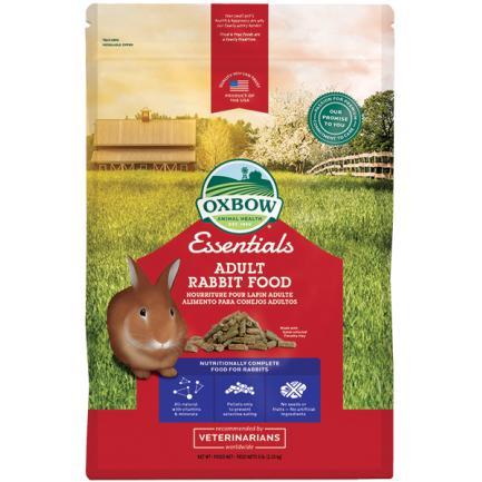 Oxbow Essential Adult Rabbit Food - 2,270 Kg.