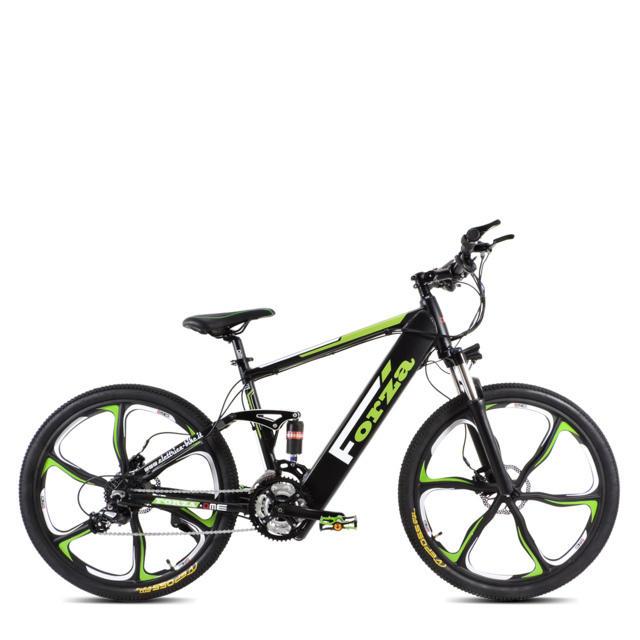 "Bici Mountain-bike elettrica 26"" Bicicletta elettrica DME 250w 36v Forza V2.0"