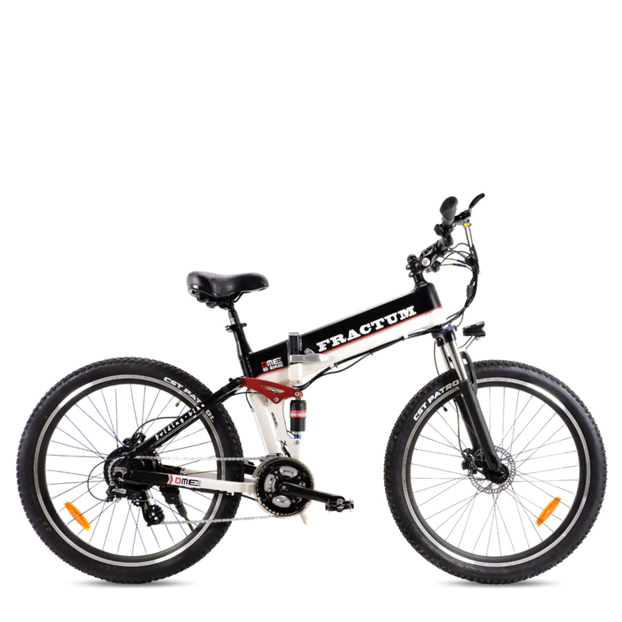 "Bici elettrica pieghevole 26""  Mountain Bike 500 w 48 v FRACTUM v2.1"