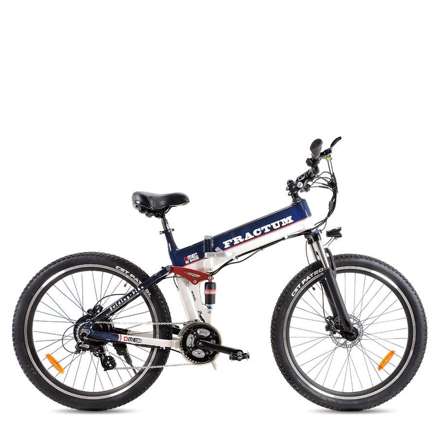 """Bicicletta pieghevole 26""""  Mountain Bike 500 w 48 v FRACTUM v2.1"""