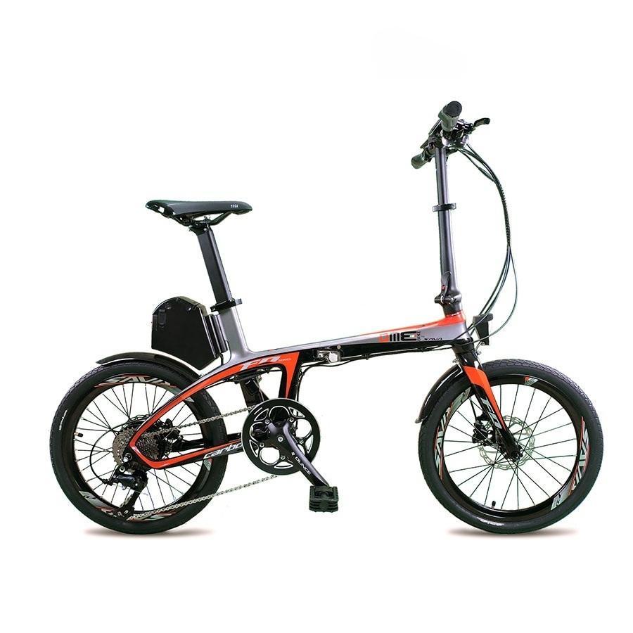 Bici elettrica carbonio 20''  250w 8.7 Ah SUXIVE E6 v1.0