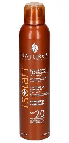 Solare Spray Trasparente Viso-Corpo