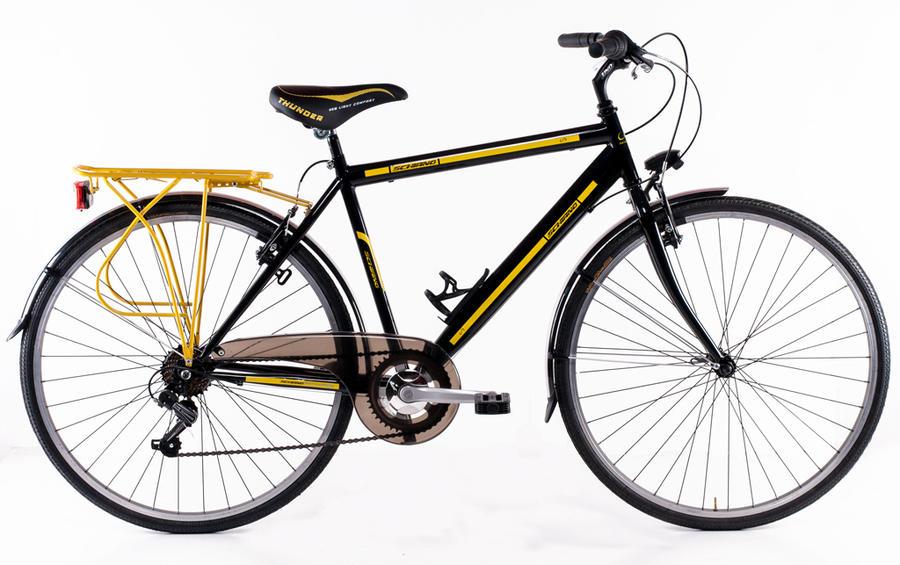 "Bicicletta City Bike da uomo Schiano 28"" mod. Trekking 3.0"