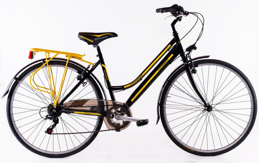 "Bicicletta City Bike da donna Schiano 28"" mod. Trekking 3.0"