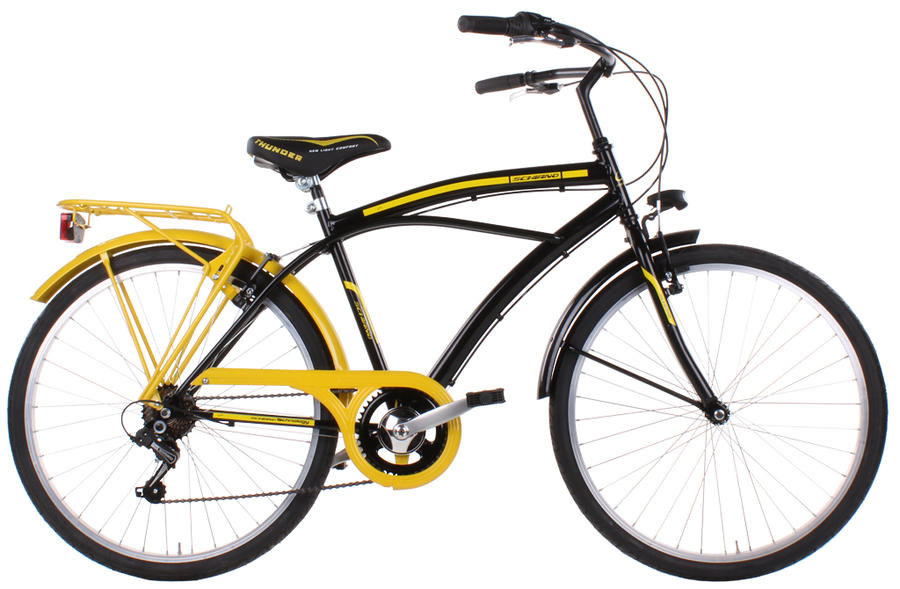 """Bicicletta da uomo Schiano CRUISER Colour- ruote dia .26"""""""