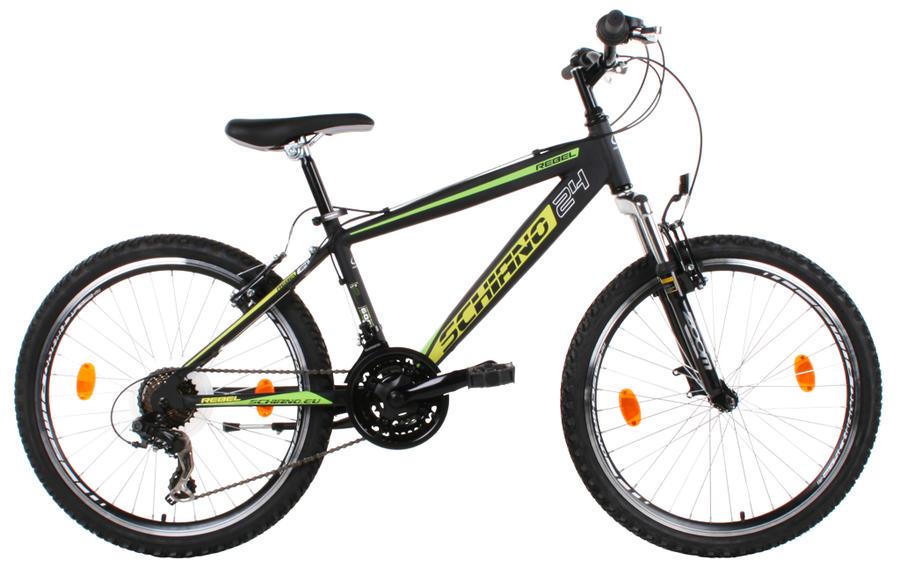 """Bicicletta MTB  Schiano 24"""" mod. Rebel ultraleggera"""