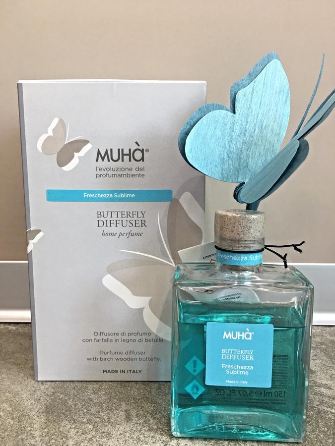 MUHA' FLOWER DIFFUSER BATTERFLY MEDIUM