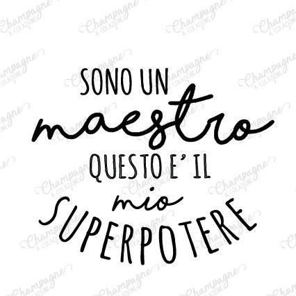 Frase - Qual è il tuo Superpotere?