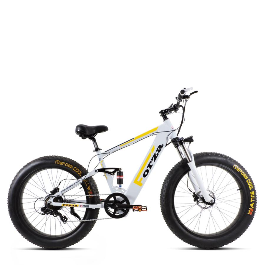"Bici elettrica 26"" pieghevole Mountain Bike  250w 36v  FORZA-FAT v2.4"
