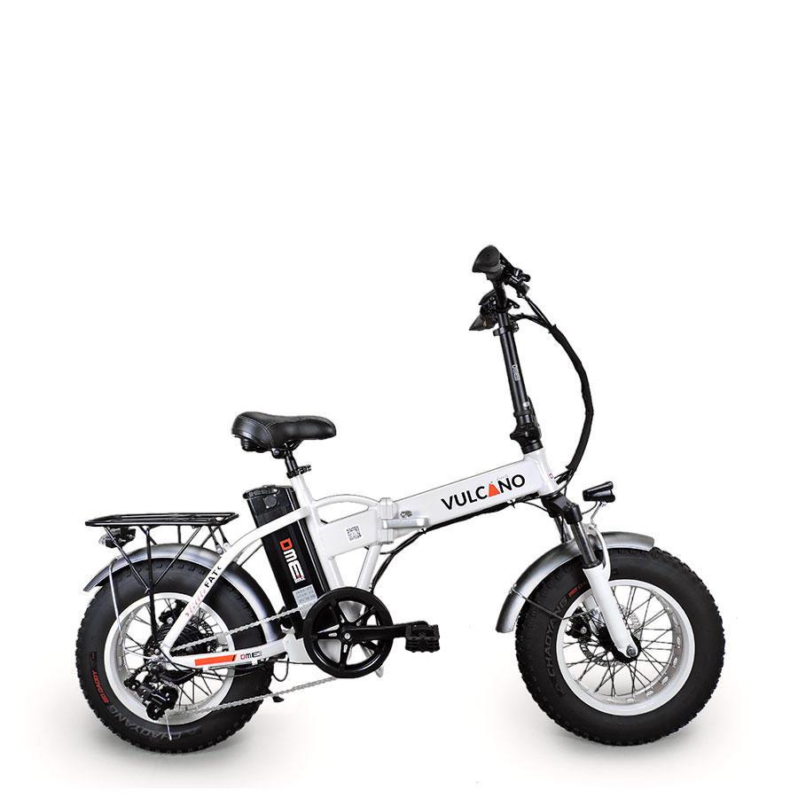 """Bicicletta elettrica pieghevole 16"""" Small FAT  Vulcano Little V1.2 250w 48v"""