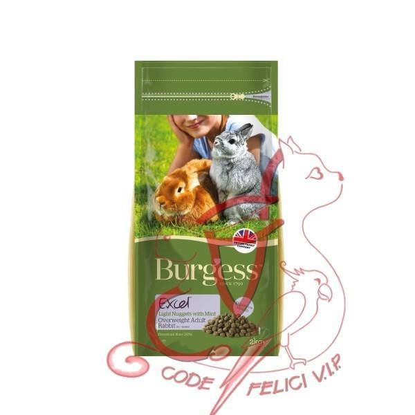 Burgess Light Rabbit Nuggets - Kg. 4,00