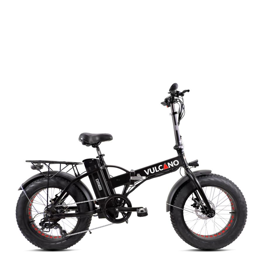 "Bicicletta elettrica pedalata assistita Fat-Bike 20"" pieghevole  vulcano v2.8.1"