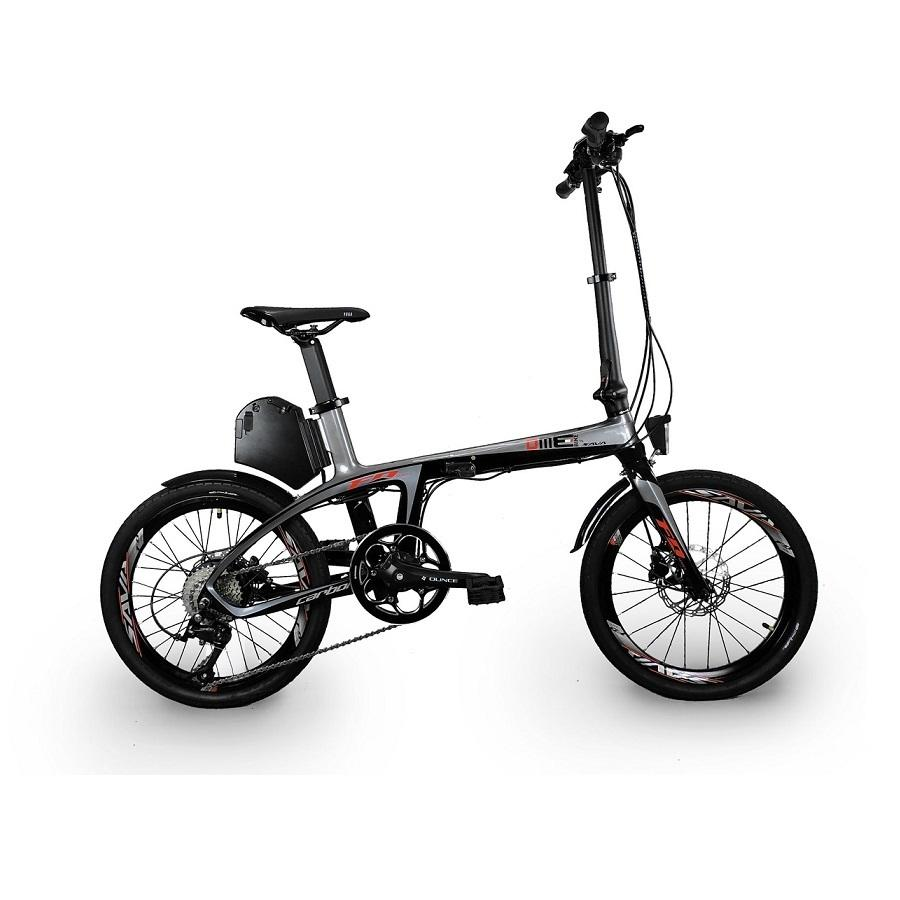 Bici elettrica carbonio Bicycle Fiber 20''  250W 8.7 Ah SUXIVE E6 v1.0